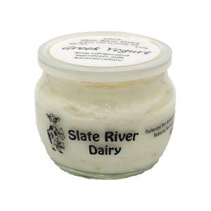 Greek Yogurt from Slate River Dairy