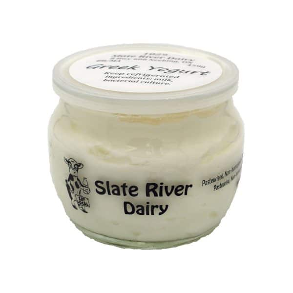 Greek Yogurt from Slate River Dairy
