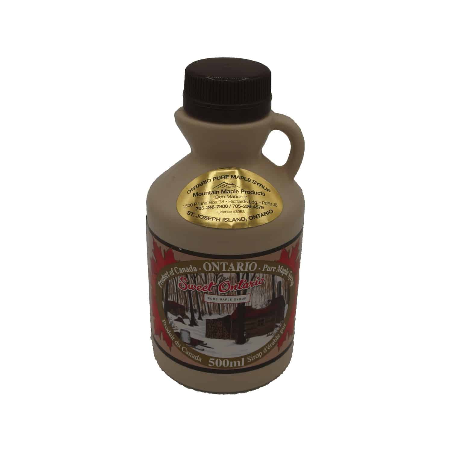 Pure Maple Syrup from mountain Maple Products