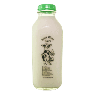 Skim Milk from Slate River Dairy