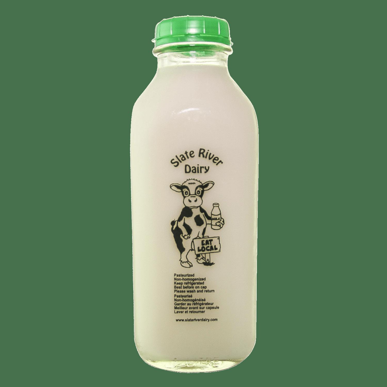 Skim Milk from Slate River Dairy